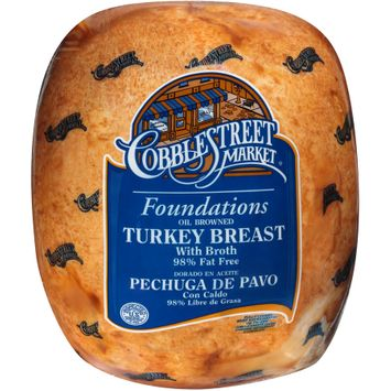 Cobblestreet Market® Foundations Oil Browned Turkey Breast with Broth