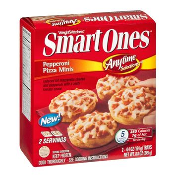 Smart Ones Anytime Selections Pepperoni Pizza Minis