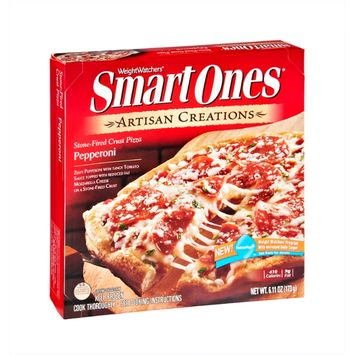 Smart Ones Artisan Creations Pepperoni Stone-Fired Crust Pizza