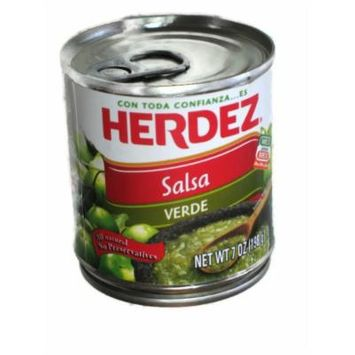 Herdez Green Mexican Salsa 7 Oz (6 Pack)