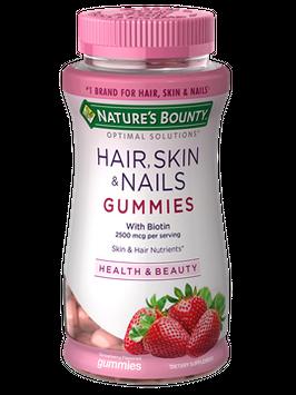 Nature's Bounty® Optimal Solutions® Hair Skin & Nails Gummies