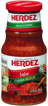 Herdez® Casera Medium Salsa