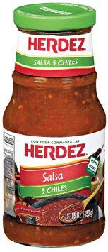 Herdez® 5 Chiles Salsa