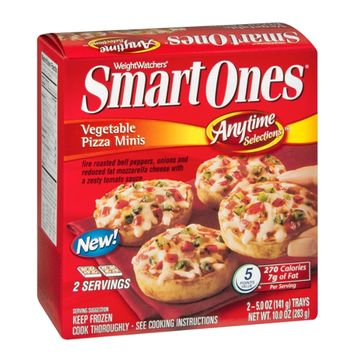 Smart Ones Anytime Selections Vegetable Pizza Minis