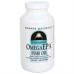 Source Naturals OmegaEPA Fish Oil - 1000 mg - 200 Softgels