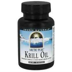 Source Naturals - ArcticPure Krill Oil 500 mg. - 60 Softgels