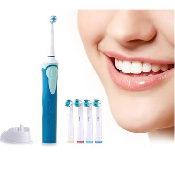 Professional Sonic-Spin Electric Toothbrush Kit - Includes All Your Electric Toothbrush Needs!