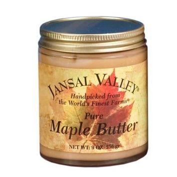 Jansal Valley Maple Butter, 8 Ounce