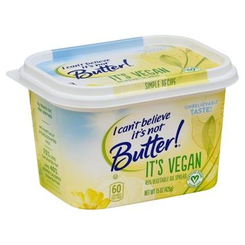 I Can't belive is not Butter! 45% Vegetable Oil Spread, 15 Oz.