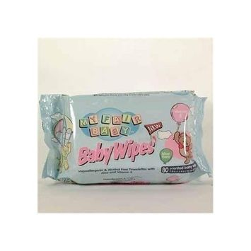 My Fair Baby - Baby Wipes Blue - 24 Pack