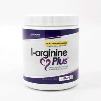 L-arginine Plus® #1 L-arginine Supplement - 5110mg L-arginine & 1010mg L-citrulline Vitamins & Minerals to Support Blood Pressure, Cholesterol and More 13.4 ounce