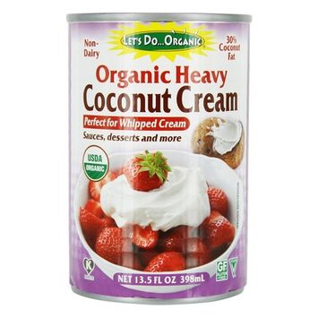 Organic Non-Dairy Heavy Coconut Cream - 13.5 fl. oz.