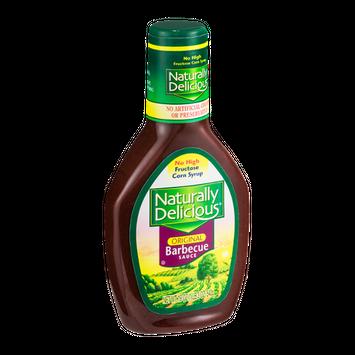 Naturally Delicious Original Barbecue Sauce