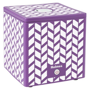 Holmes Ultrasonic Cube Humidifier- Pink Design