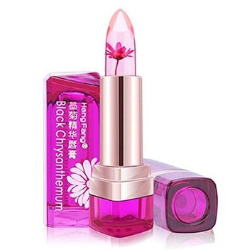 Jelly Lipstick, Richoose Moisturize Temperature Change Magic Color Discoloration Jelly Lip Stick Professional Make-up,Peach Flavor