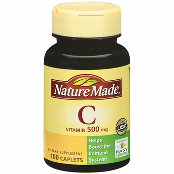 Nature Made Vitamin C Caplets