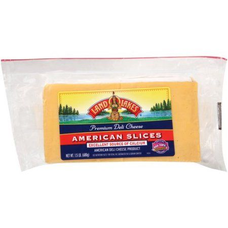 Land O' Lakes Deli American Cheese Slices Yellow