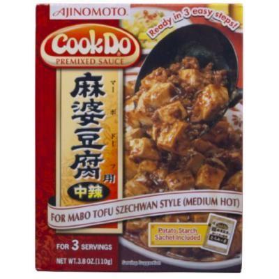 Ajinomoto Cookdo Mabo Tofu Medium Hot, 3.8-Ounce Units (Pack of 10)
