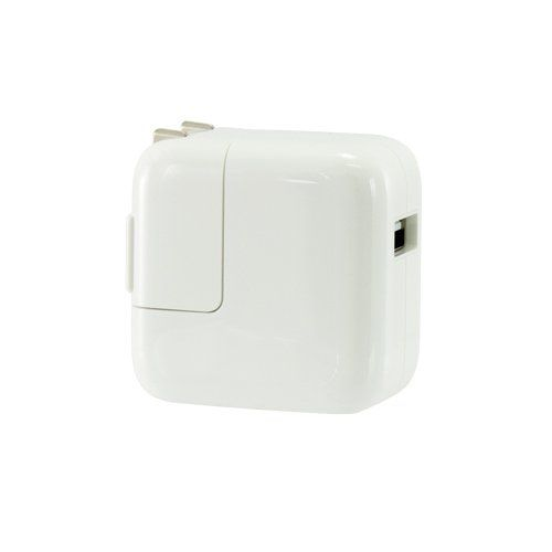 Apple AC to USB Power 12W for Apple iPad - supports iPhone, iPods, other USB chargeable devices