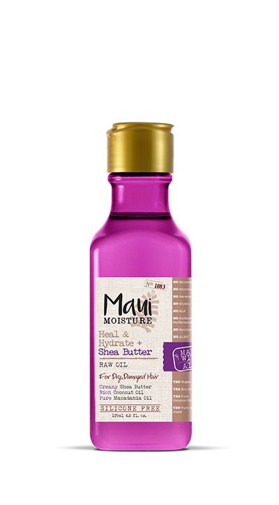 Maui Moisture Heal & Hydrate + Shea Butter Raw Oil