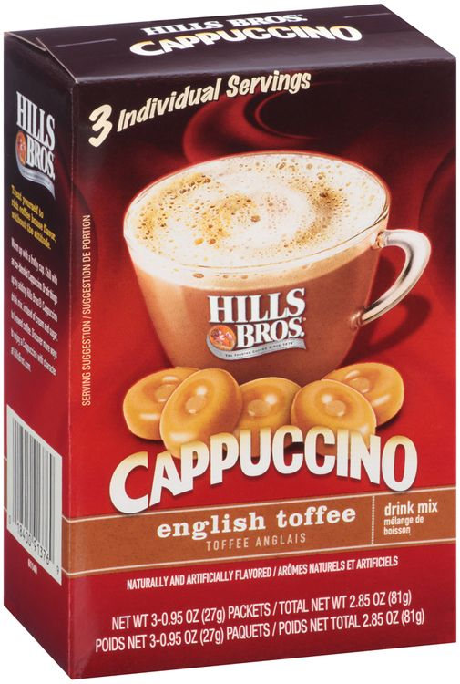 Hills Bros.® English Toffee Cappuccino