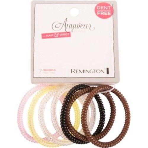 Remington Anywear Hair for Hair & Wrist Elastics, 7 count