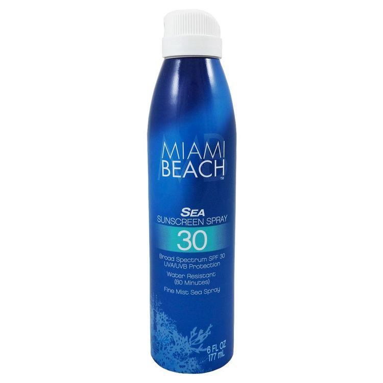 MB Miami Beach SPF 30 Sea Spray Sunscreen 6 Fl Oz