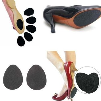 NSSTAR New Shoes High Heel Shoes Boots Sandals Sole Protector Pads Non-Slip Anti-Slip Grip Cushion with 1PCS Free Cup Mat Color Ramdon