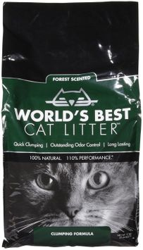 World's Best Cat Litter Forest Scented Clumping Formula, 12 lbs.