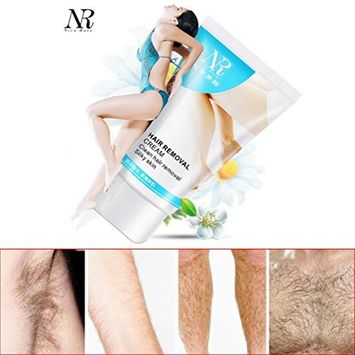 Hair Removal Cream - Fheaven NR Powerful Permanent Inspirations Legs & Body Hair Removal Cream Stop Hair Growth Inhibitor Removal [white]