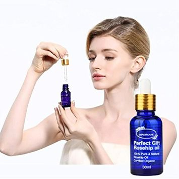 30 ml Rosehip Oil,Beauty Organic Rosehip Oil For Hair & Face Pure - Natural Cold Pressed Unrefined Oil