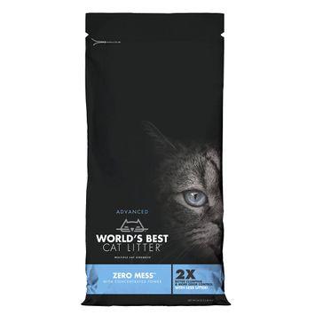 World's Best Cat Litter, Advanced Zero Mess Cat Litter - Clumping size: 24 Lb