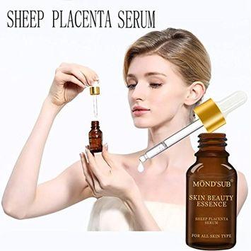 Sheep Placenta Serum,Fheaven 15ml Natural Pure Firming Sheep Placenta Serum Collagen Strong Anti Wrinkle Anti-aging,Anti-Wrinkle,Firming,Moisturises