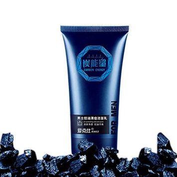 Fheaven Men Control Oil Wash Cool To Blackhead Acne Moisturizing Face Cleanser