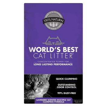 World's Best Clumping Scented cat litter 15lb