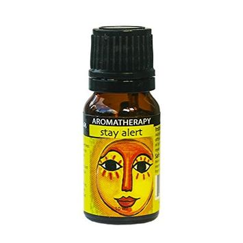 Essential Oil Blend for Excessive Sleepiness - Stay Alert, Reduce Fatigue, Tension, Improve Headache & Uplifting Thoughts with Stimulating Essential Oils - 100% Therapeutic Grade Aromatherapy - 10ml