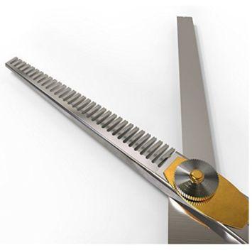 Equinox Professional Razor Edge Series - Barber Hair Cutting and Thinning/Texturizing Scissors/Shears Set - 6.5