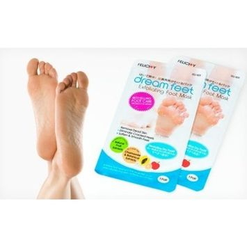 Dream Feet Exfoliating Foot Peeling Mask with All-Natural Extracts