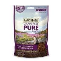 Canidae Pet Foods CD02333 Pure Grain Free Cat Treat With Trout 3 Oz. - 12 Case