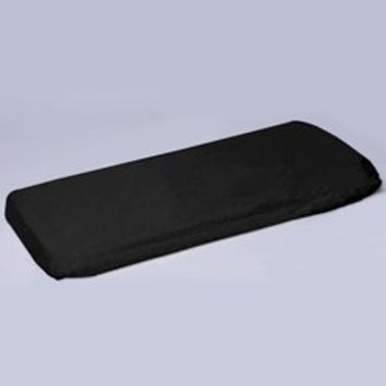 Black Play Yard Poly/Cotton Sheet - Size: 28x39 inches