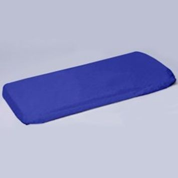 Play Yard Poly/Cotton Sheet - Color: Royal Blue, Size: 37