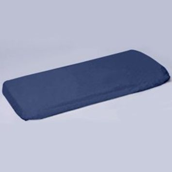 Play Yard Poly/Cotton Sheet Fits Graco- Color: Navy, Size: 27