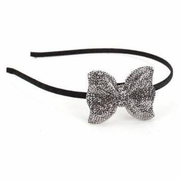 Great Gatsby Flapper Inspired Handmade Fashion Headband/Hairband Rhinestone Bow