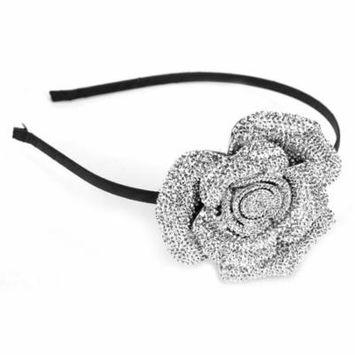 Great Gatsby / Roaring 20s Flapper Inspired Handmade Beaded Rose Headband / Hairband