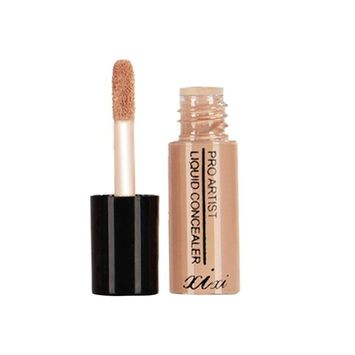 Professional Beauty Liquid Foundation Hosamtel Natural Moisturizing Highlighting Cosmetics Cream Facial Blemish Concealer for Concealer Trimming Cover Dark Circles Freckles Acne