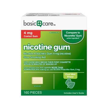 Basic Care Nicotine Gum [4 mg]
