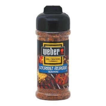 Weber Grill Gourmet Burger Seasoning, 6-Ounce Bottles (Pack of 4)