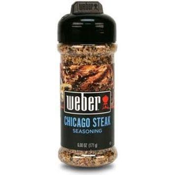 Weber Chicago Steak Seasoning 6 oz (1 pack)