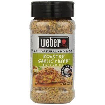 Weber Seasoning, Roasted Garlic and Herb, 7.75 Ounce