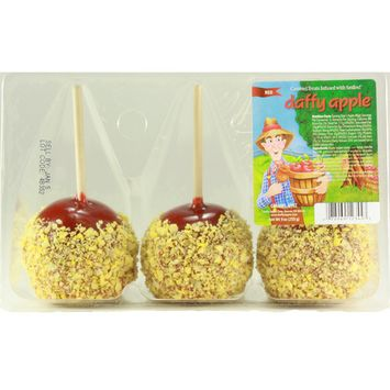 Tastee Apple Tastee Candy Apples, 3 ea